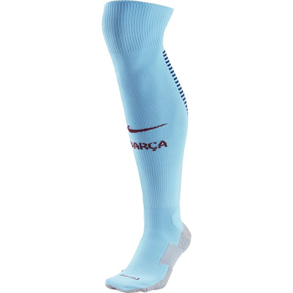Nike FC Barcelona 2017/18 Away Sock, Blue