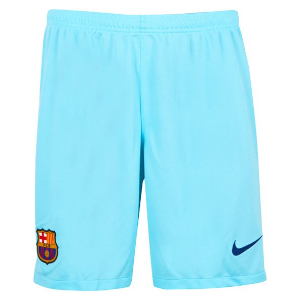 Nike FC Barcelona 2017/18 Kids' Away Short, Blue