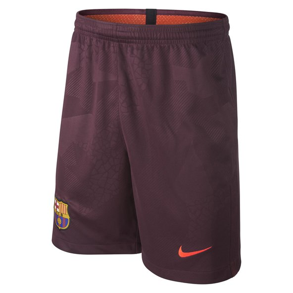 Nike FC Barcelona 2017/18 Kids' Third Short, Maroon