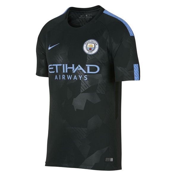 Nike Man City 2017/18 Men's 3rd Jersey, Green