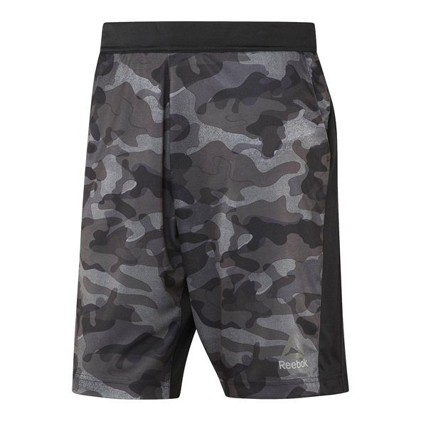 Reebok Speedwick Camo Men's Short, Black