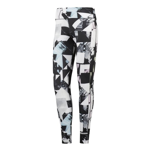 Reebok Lux Bold Photofold Wmn Tight Chal