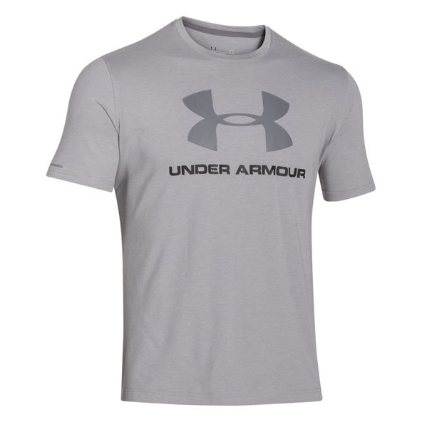 Underarmour Sportstyle Logo Mens Tee Gry