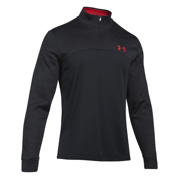 Underarmour Armour Flc 1/4Z  Men Top Blk