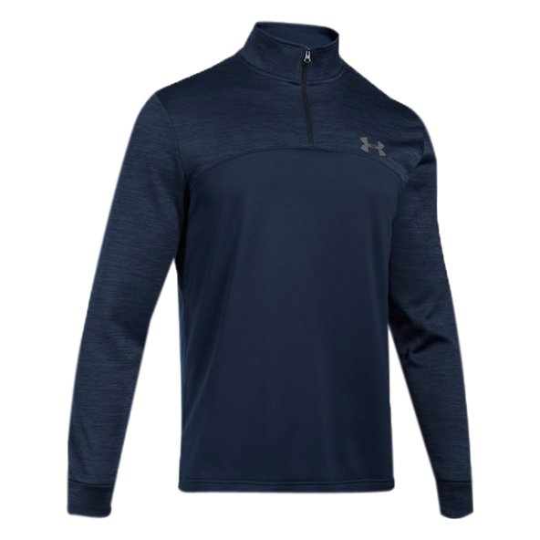 Underarmour Armour Flc 1/4Z  Men Top Nvy