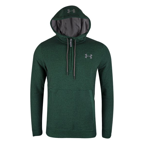 Under Armour® Threadborne Men's ½ Zip Hoody, Green