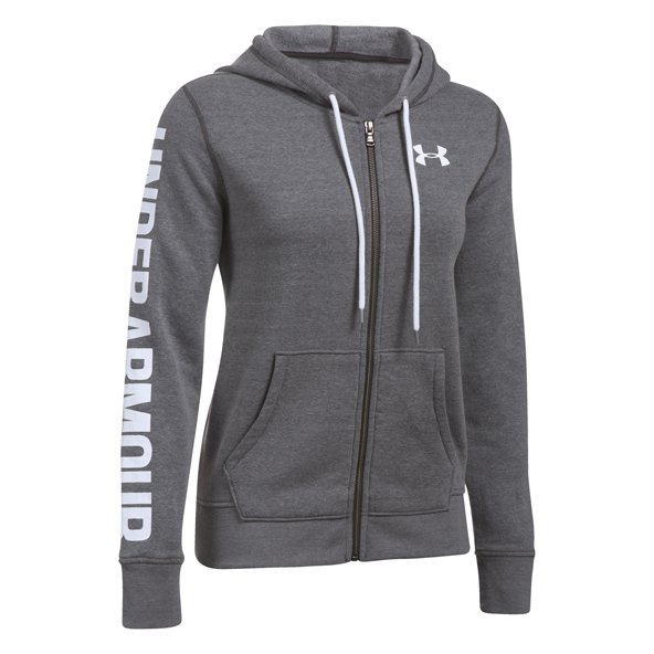 Under Armour® Favorite FZ Women's Hoody, Grey