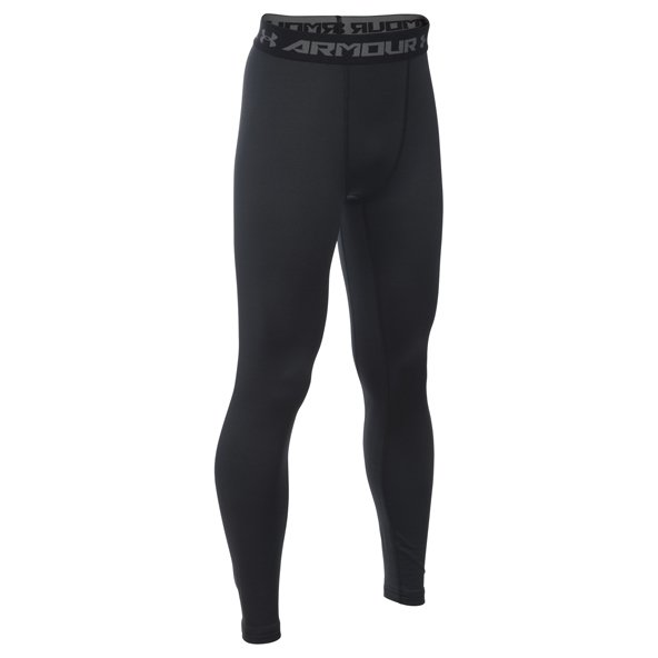 Under Armour ColdGear® Boys' Legging, Black