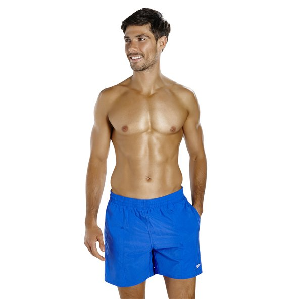 "Speedo Solid Leisure 16"" Watershort Blue"