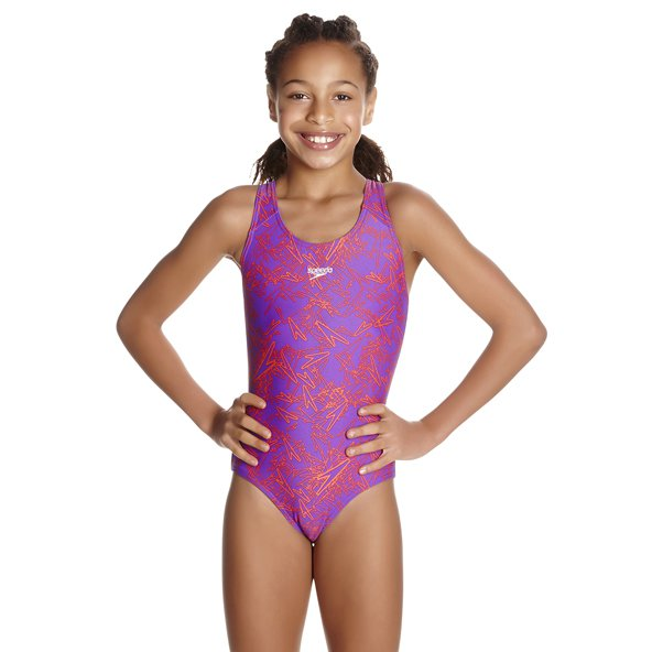 Speedo Boom Allo Girls Splashback Purp/P