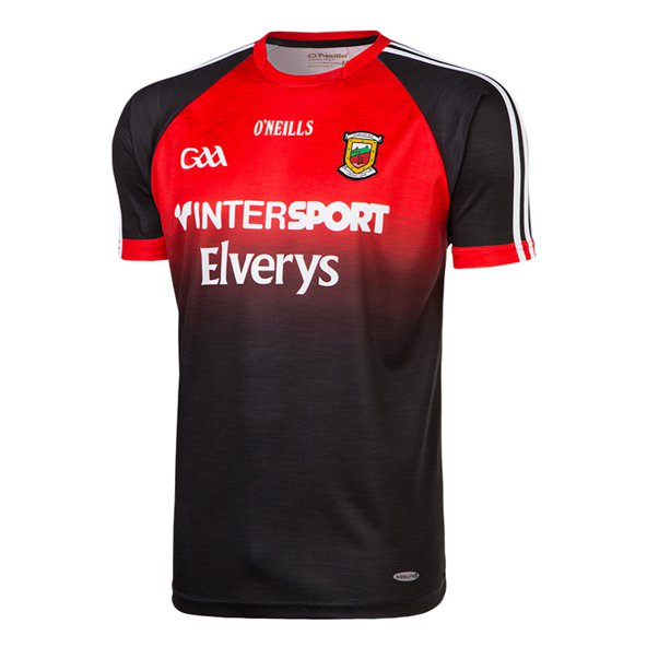 O'Neills Mayo 2017 Kids' Away Jersey, Black
