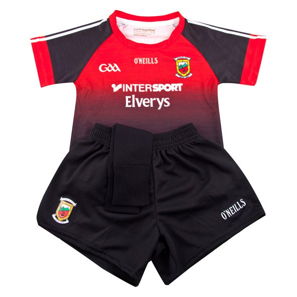 O'Neills Mayo 2017 Kids' Away Kit, Black