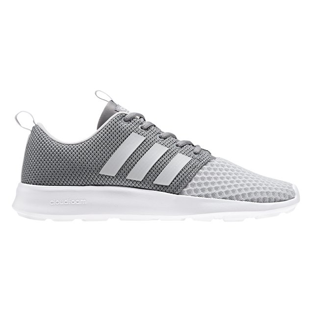 adidas cloudfoam trainers men grey
