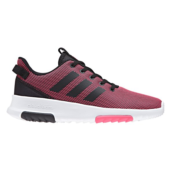 adidas Cloudfoam Racer Girls' Trainers, Pink