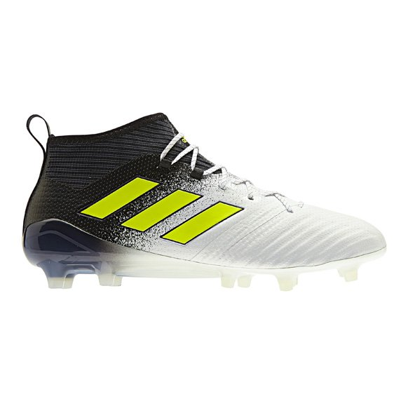 adidas ACE 17.1 Kids' FG Football Boot, White