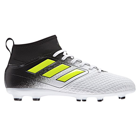 adidas ACE 17.3 Kids' FG Football Boot, White
