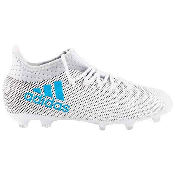 adidas X 17.1 Kids' FG Football Boot, White