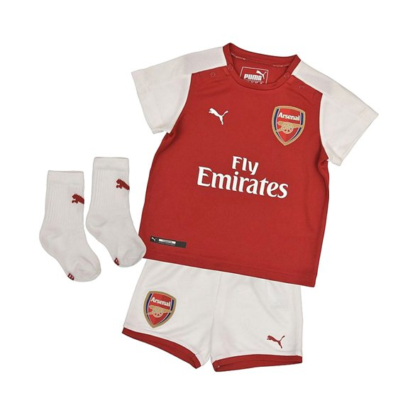 Puma Arsenal 2017/18 Home Mini Kit, Red