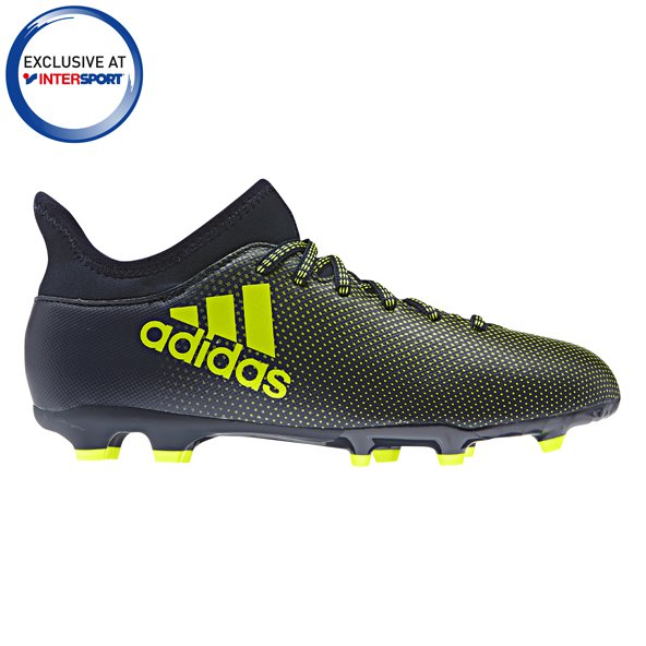 adidas X 17.3 Kids FG Black