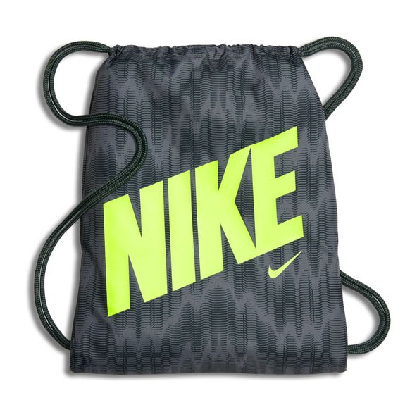 Nike Youth Gymsack GFX Grey/Green