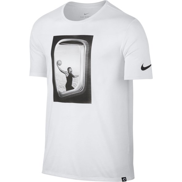 Nike Freq Flyer Dry Mens Tee White
