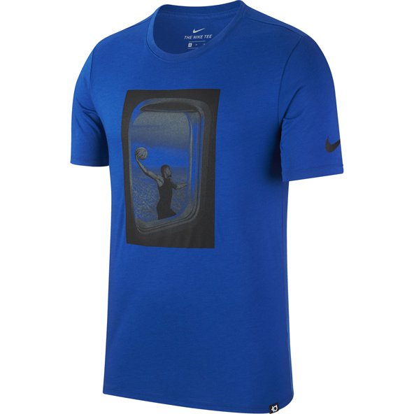 Nike Freq Flyer Dry Mens Tee Blue