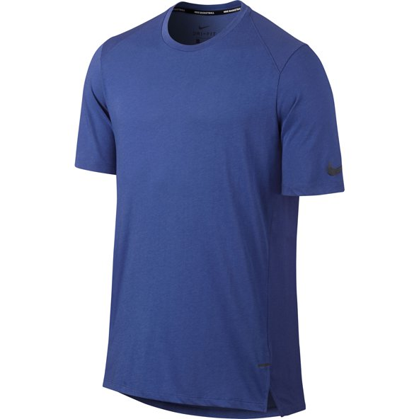 Nike Elite Breathe Mens SS Top Royal