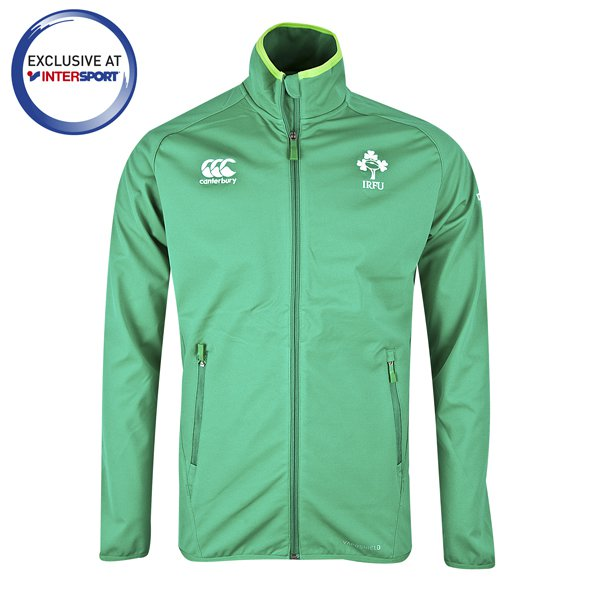 Canterbury IRFU 17 Anthem Mens Jkt Grn