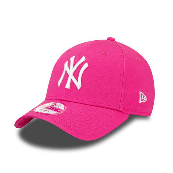 New Era 9Forty NY Yankees Baseball Cap, Pink