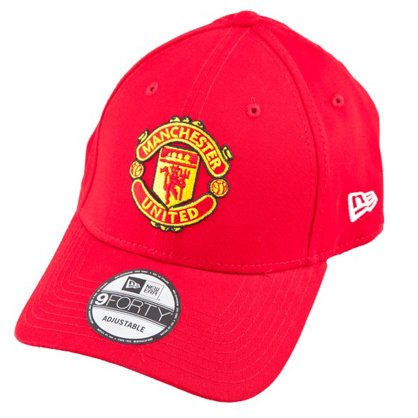 New Era 9Forty Man United Cap, Red