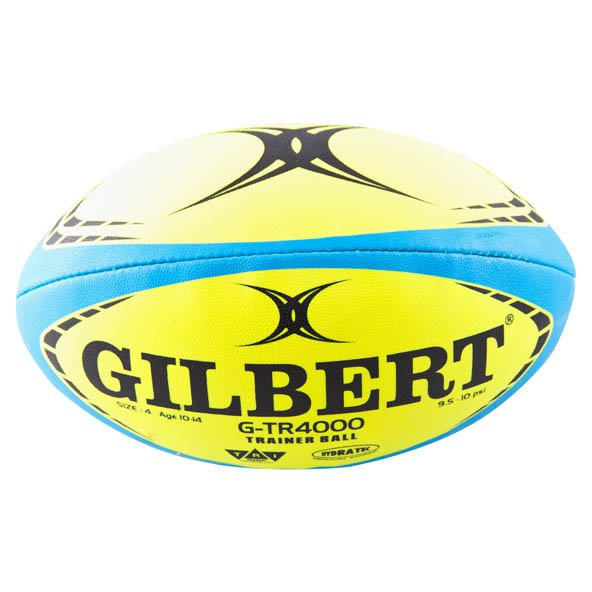Gilbert G TR4000 Trainer Rugby Ball, Yellow