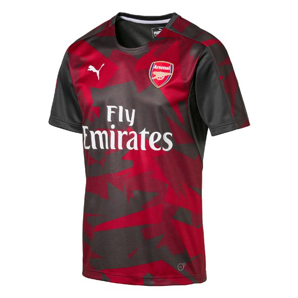 Puma Arsenal 2017/18 Kids' Home Stadium Jersey, Grey