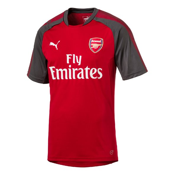 Puma Arsenal 2017/18 Kids' Training Jersey, Red