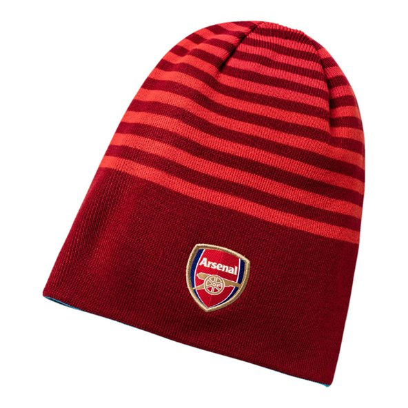 Puma Arsenal 2017/18 Reversible Beanie, Red/Blue
