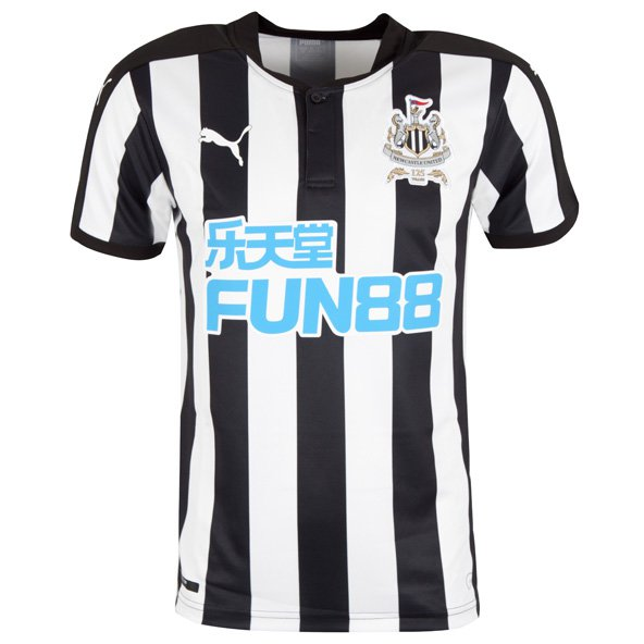 Puma Newcastle United 2017/18 Home Jersey, Black