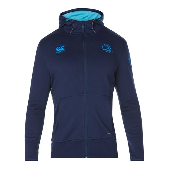 Canterbury Leinster 2017/18 Full Zip Hoody, Navy