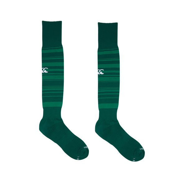 Canterbury IRFU Home 17 Socks Green