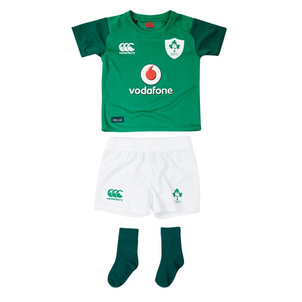 Canterbury IRFU 2017 Infant Home Kit, Green