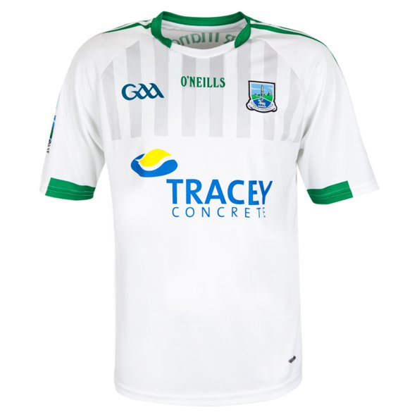 O'Neills Fermanagh 2017 Kids' Away Jersey, White