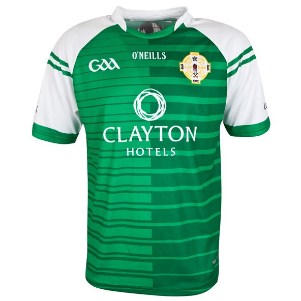 O'Neills London 2017 Kids' Home Jersey, Green