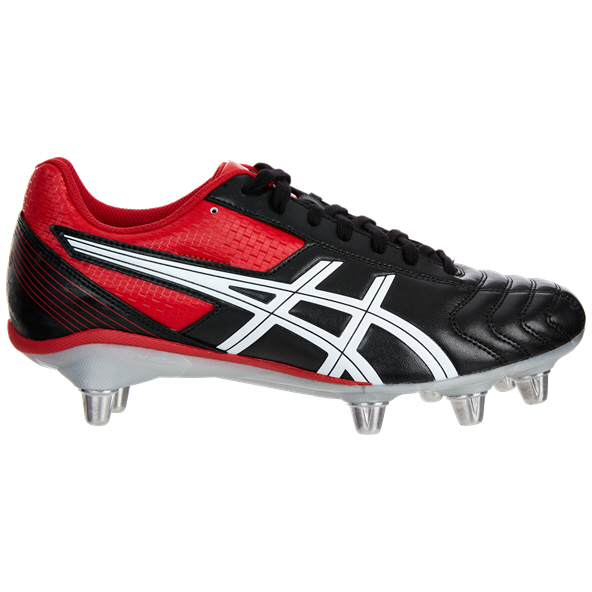 Asics Lethal Tackle Rugby Boots, Black