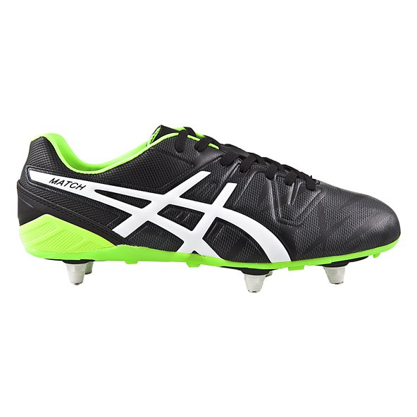 Asics Match ST Rugby Boot, Black