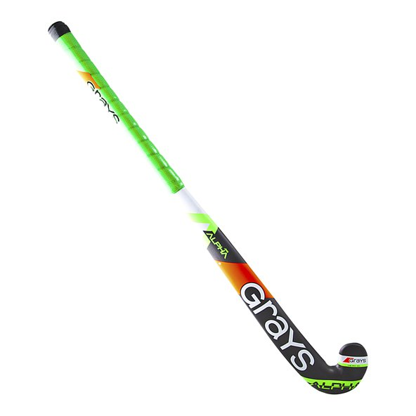 Grays Alpha Ultrabow Junior Stick Grey/G