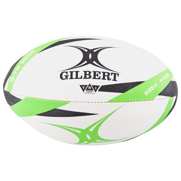Gilbert G-TR3000 Trainer Rugby Ball, White