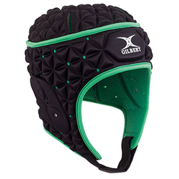Gilbert Ignite Headgear Black/Green