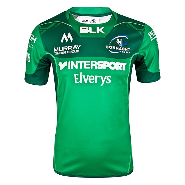 BLK Connacht 2017 Home Test Jersey, Green