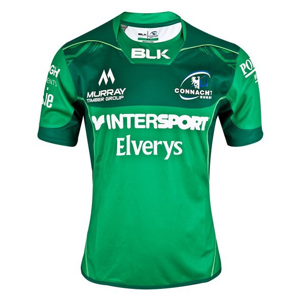 BLK Connacht 17 Home Jersey Green