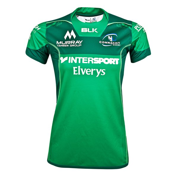 BLK Connacht 2017/18 Women's Home Jersey, Green