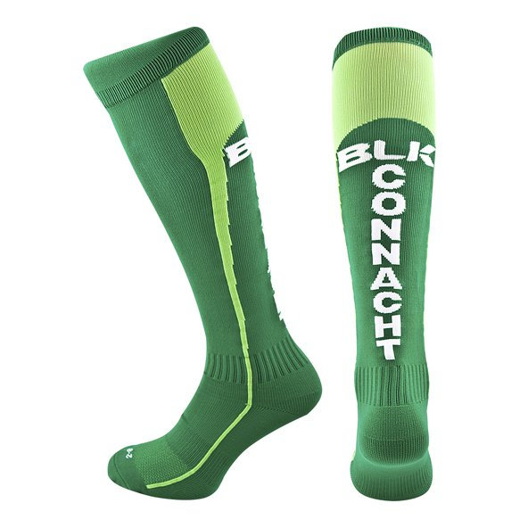 BLK Connacht 17 Home Sock Green