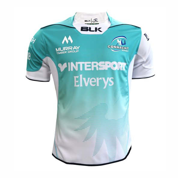 BLK Connacht 2017/18 Kids' Away Jersey, White